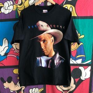 VTG 96Garth Brooks Fresh HorsesTour T-shirt Large